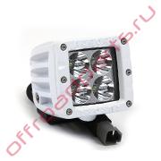 Белая светодиодная фара AURORA ALO-M-2-P4T 40W