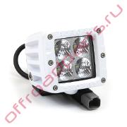 Белая светодиодная фара AURORA ALO-M-2-E4T 40W